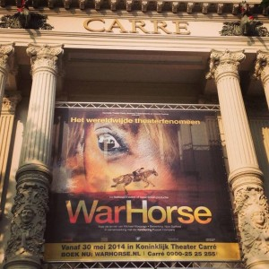 Warhorse in Carre